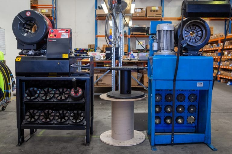 Hydraulic Hose Assembly Equipment Perth